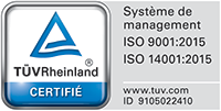 Certification TUV 9001